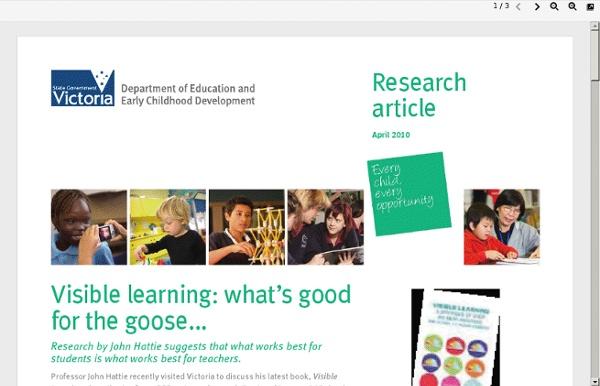 Www.eduweb.vic.gov.au/edulibrary/public/publ/research/publ/Researcharticle_visible_learning.pdf