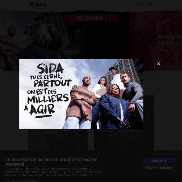 AIDES : Première association française de lutte contre le VIH / sida et les hépatites