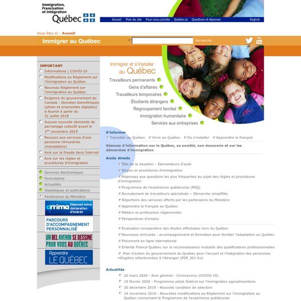 Immi-Quebec site web PNP