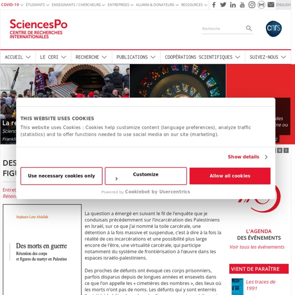 Sciences Po ./ CERI