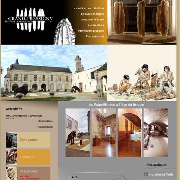Page d'accueil Grand-Pressigny
