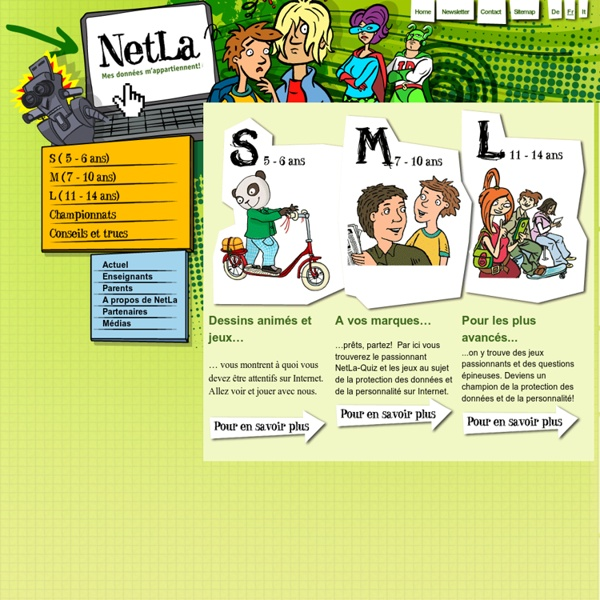 Page d'accueil - NetLa