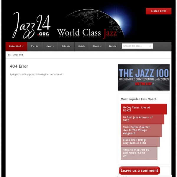 100 Quintessential Jazz Songs Chosen by Jazz24 Listeners and Staff