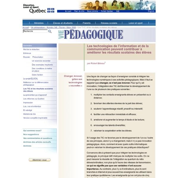 Revue Vie Pédagogique