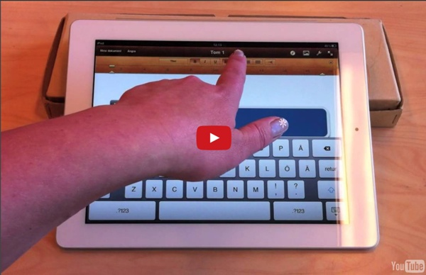 Pages för iPad