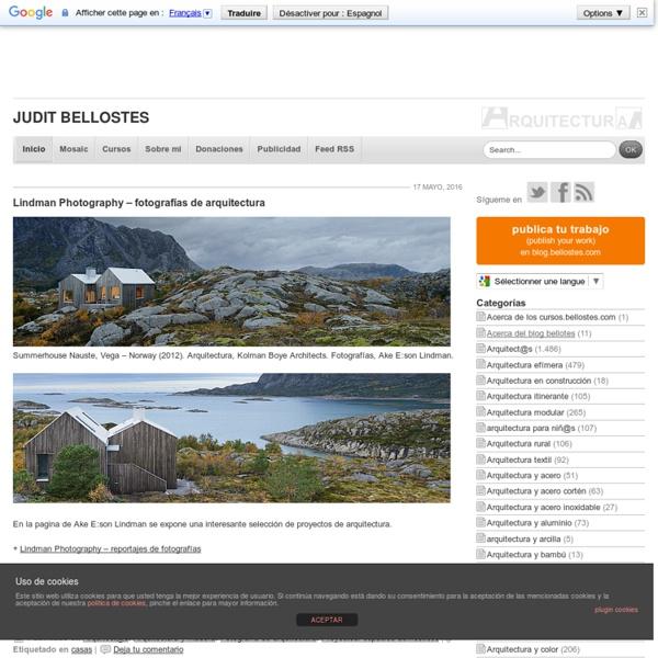 Judit Bellostes : Página de inicio : Estudio de arquitectura