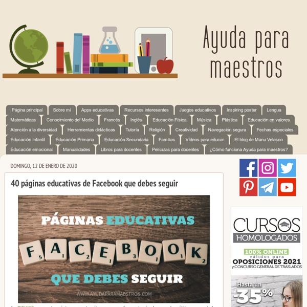 35 páginas educativas de Facebook que debes seguir