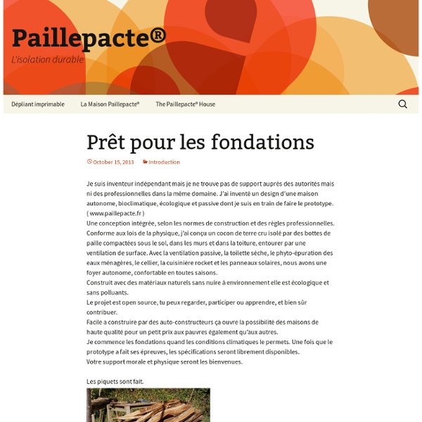 L'isolation durable