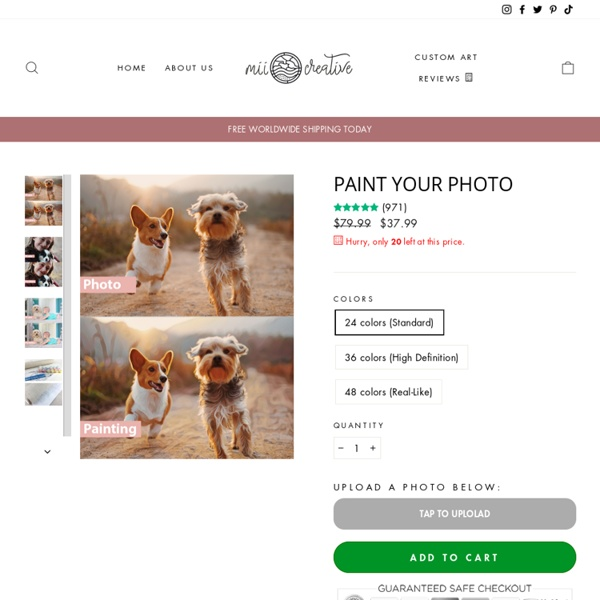 Paint your photo - miicreative