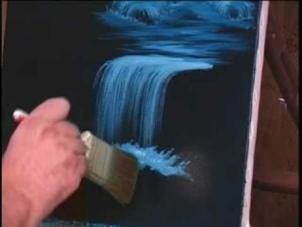 How to Paint Water - Waterfalls (1 of 19)
