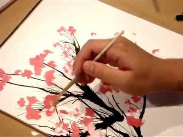 Painting : Cherry Blossom Tree