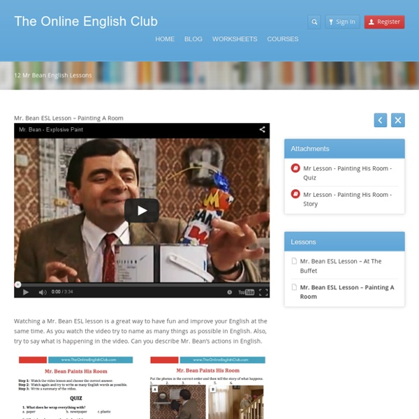 The Online English ClubThe Online English Club