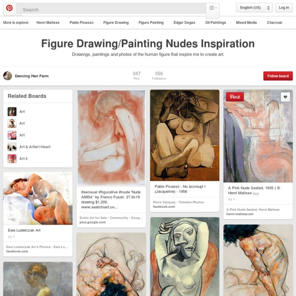 Figure Drawing/Painting Nudes Inspiration on Pinterest