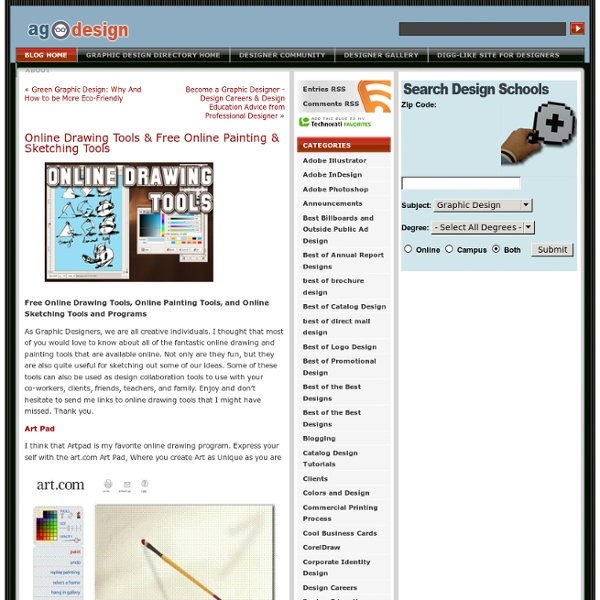 Online Drawing Tools & Free Online Painting & Sketching Tools ...