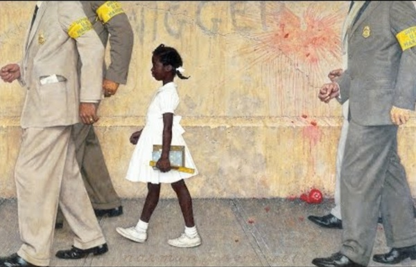 """Painting Tour: """"The Problem We All Live With"""" (1964)"""