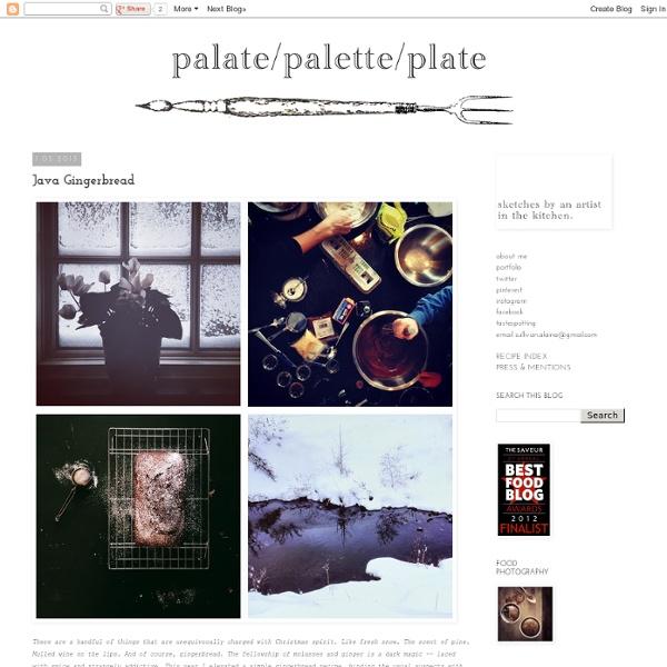 Palate/palette/plate