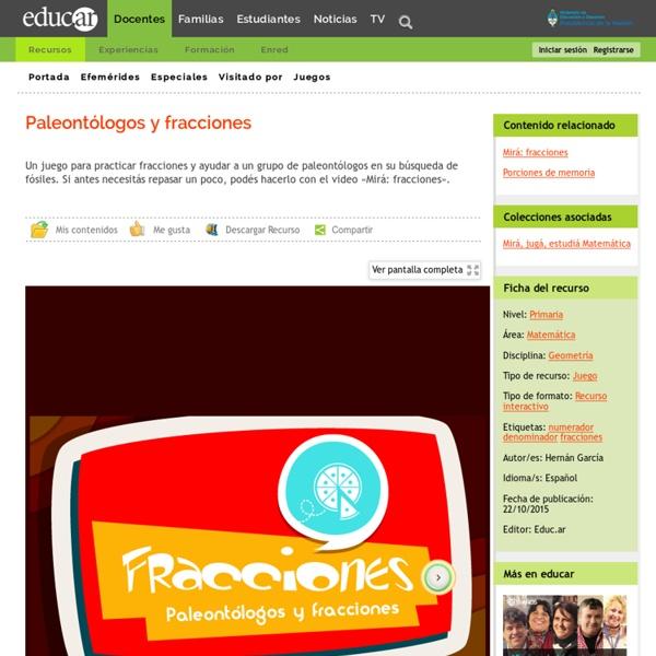 Paleontólogos y fracciones