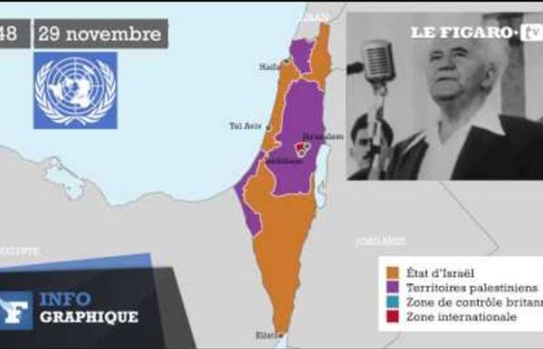Israël-Palestine : comprendre le conflit par les cartes - Le Figaro