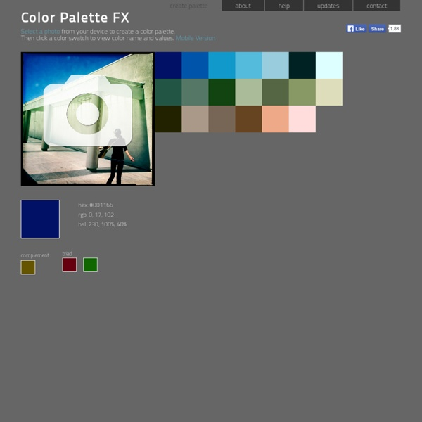 Color Palette FX