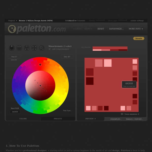The Color Scheme Designer