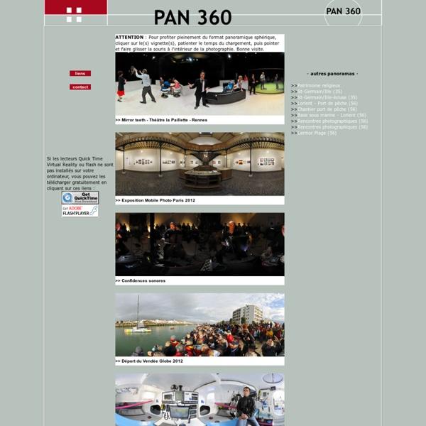 PAN 360 - bretagne en panoramic