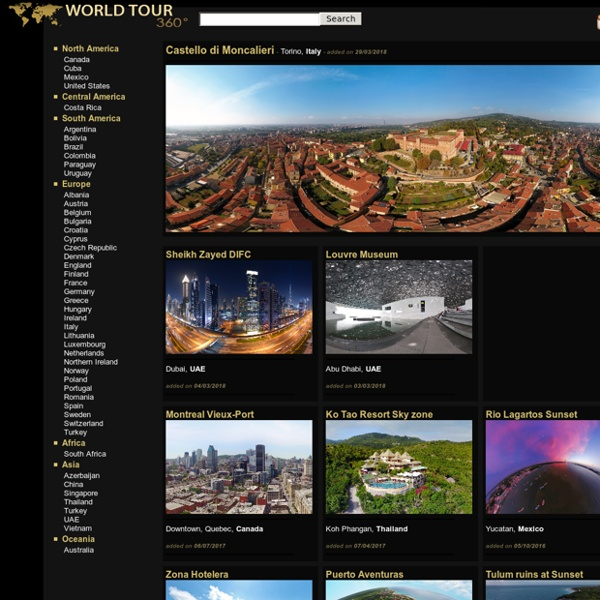360° panoramas - Virtual tours around the world - WorldTour360.com