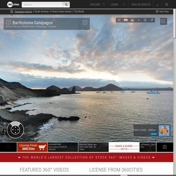 Photos Panoramiques du monde - 360Cities