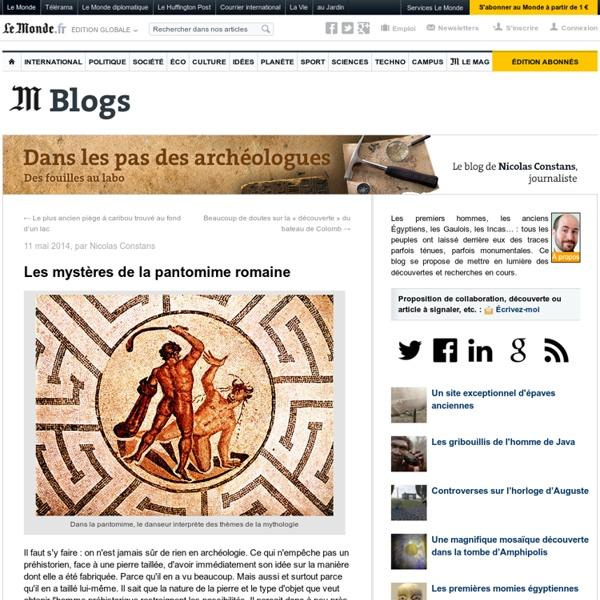 Les mystères de la pantomime romaine