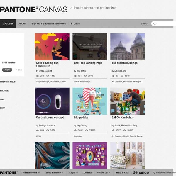 Pantone Canvas Gallery