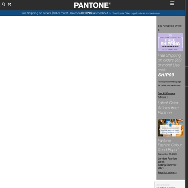 Search - Find a PANTONE Color
