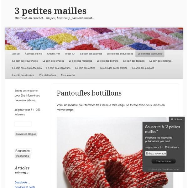 Pantoufles bottillons