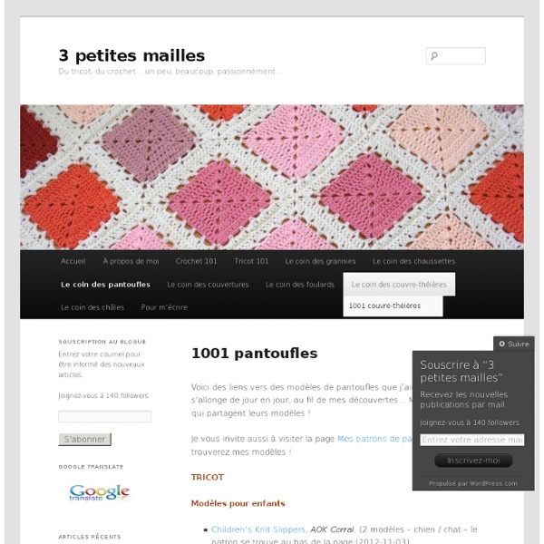 1001 pantoufles