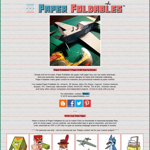 Paper Foldables
