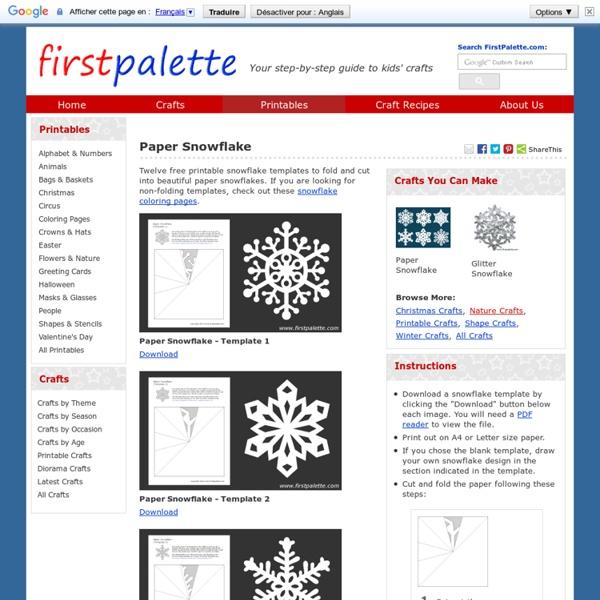 Paper Snowflake Patterns