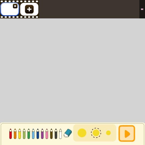 免註冊, 很簡單的動畫繪製, 適合給小孩玩塗鴉