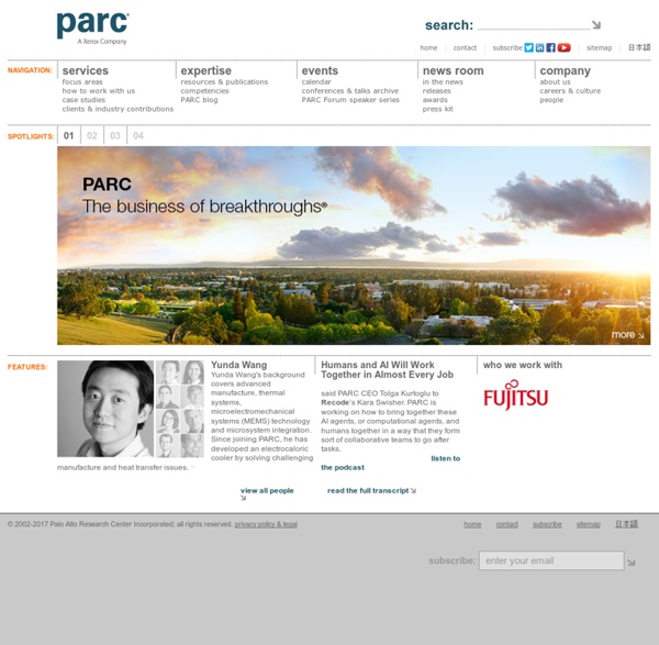 PARC, a Xerox company