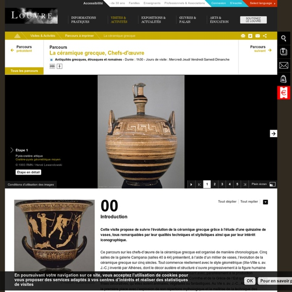 La céramique grecque – Chefs-d'œuvre