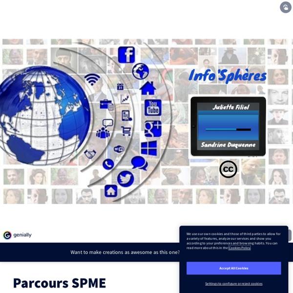 Parcours SPME by jfiliol.pro on Genially