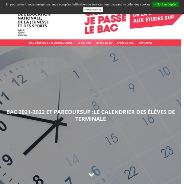 Bac 2020-2021 : les dates officielles