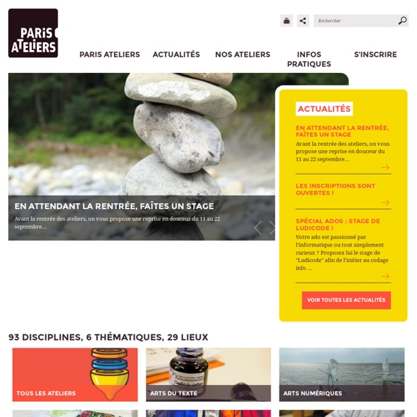Paris-ateliers