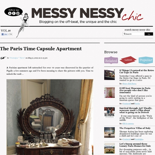 The Paris Time Capsule Apartment
