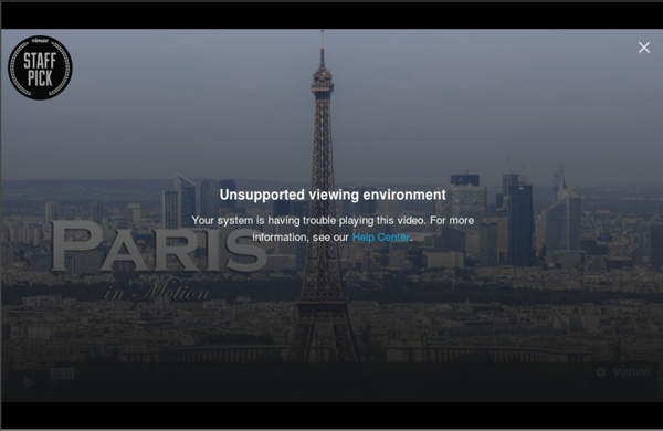 Paris In Motion (Part I)