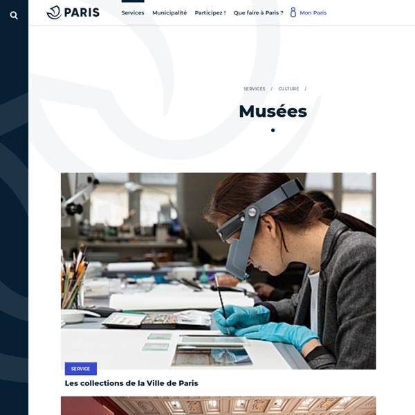 Paris Musées, les Musées de la Ville de Paris