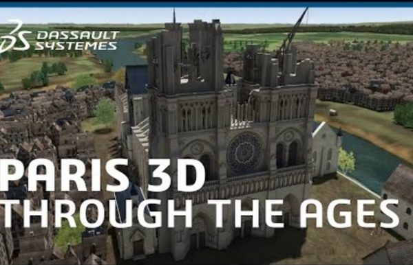 Paris 3D: a Tour of the City Through the Ages