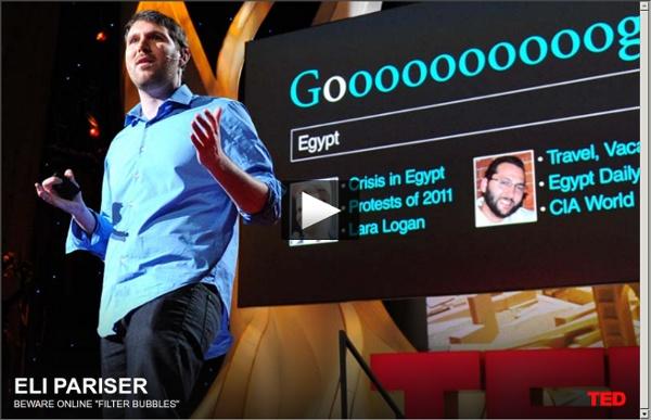 """Eli Pariser: Dajte si pozor na internetové """"informačné bubliny"""""""