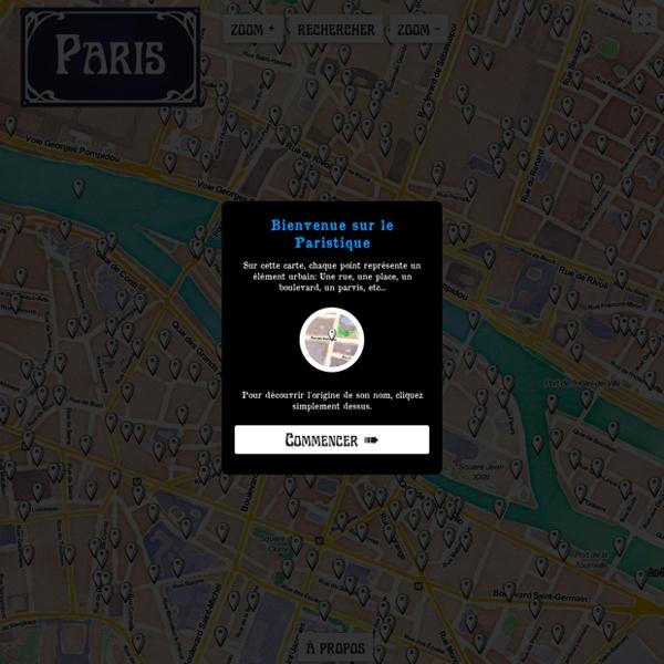 Paristique: Histoire de nos rues