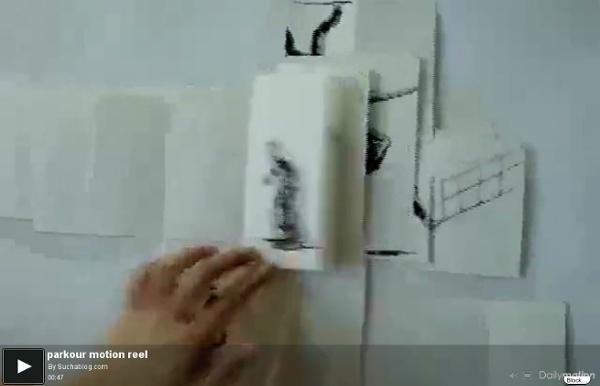 Parkour motion reel - une vidéo Art et Création