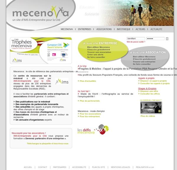 Le site de référence des partenariats entreprises - associations