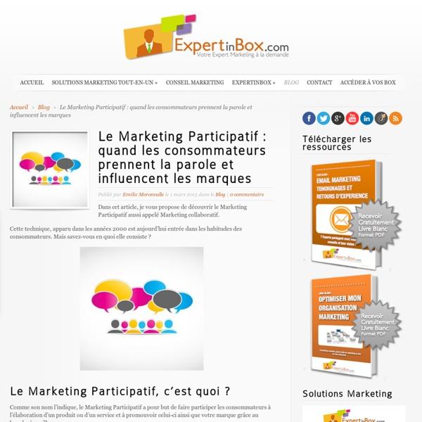 Le Marketing Participatif : quand les consommateurs prennent la parole