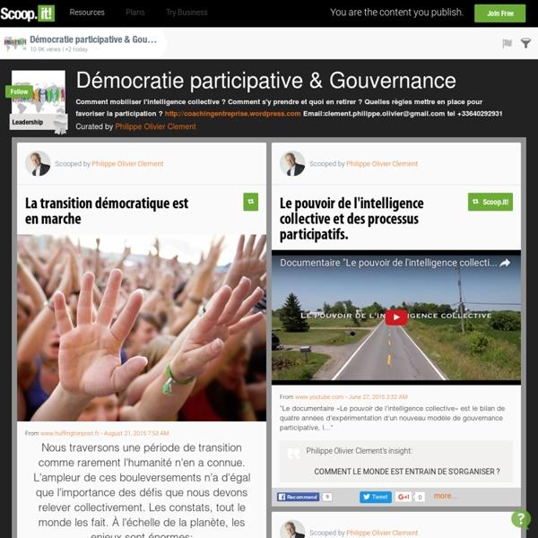 Démocratie participative & Gouvernance